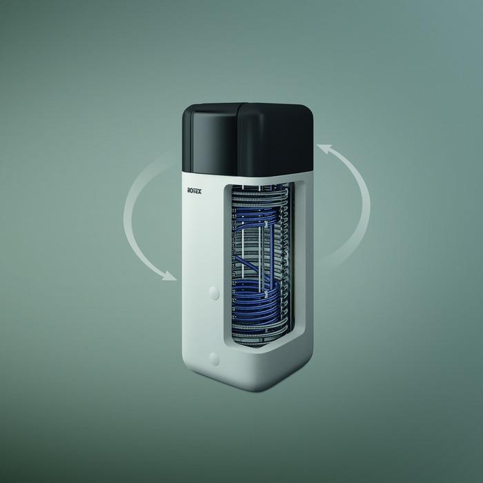 Luft-Wasser-Wärmepumpe Rotex