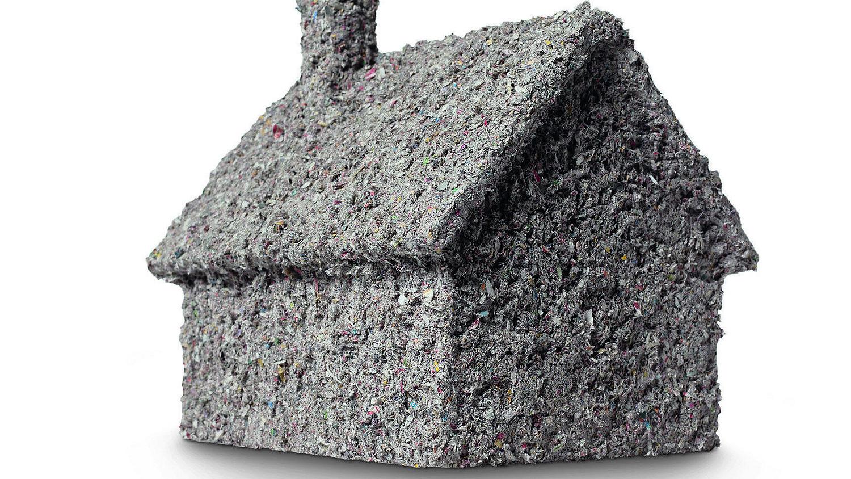 Haustechnik:Zellulosedämmung