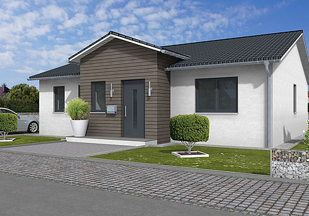bungalow mit satteldach satteldach bungalow ambiente 96. Black Bedroom Furniture Sets. Home Design Ideas