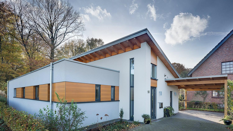 Eitelkeit Fertighaus Aus Holz Beste Wahl Beispiel Für Einen Bungalow: Moderne Stadtvilla Mit
