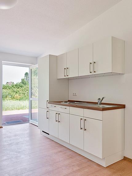 Wohnheim Küchenzeile