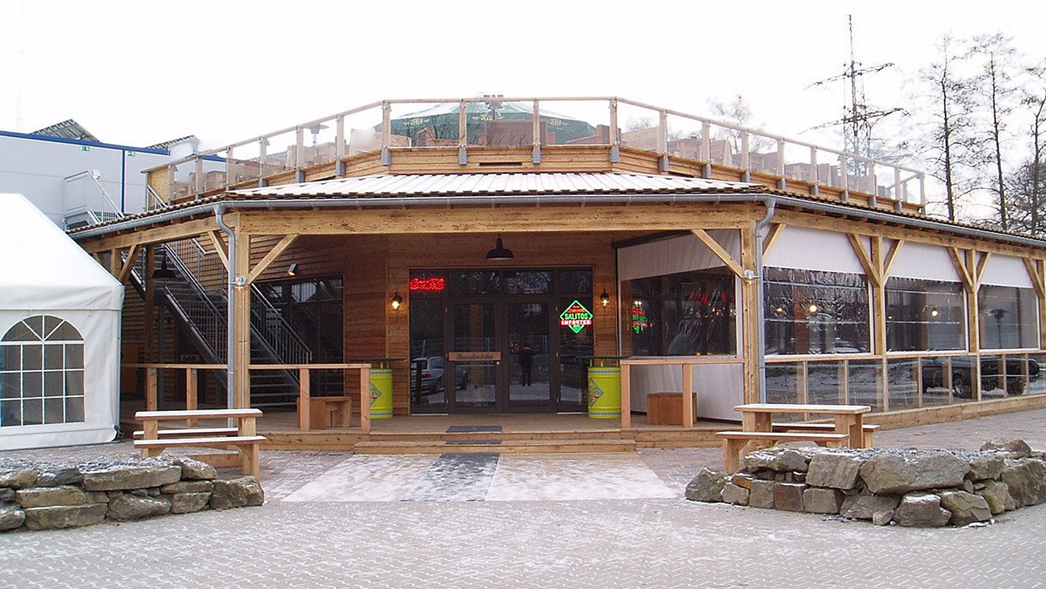 Roadhouse aus Holz