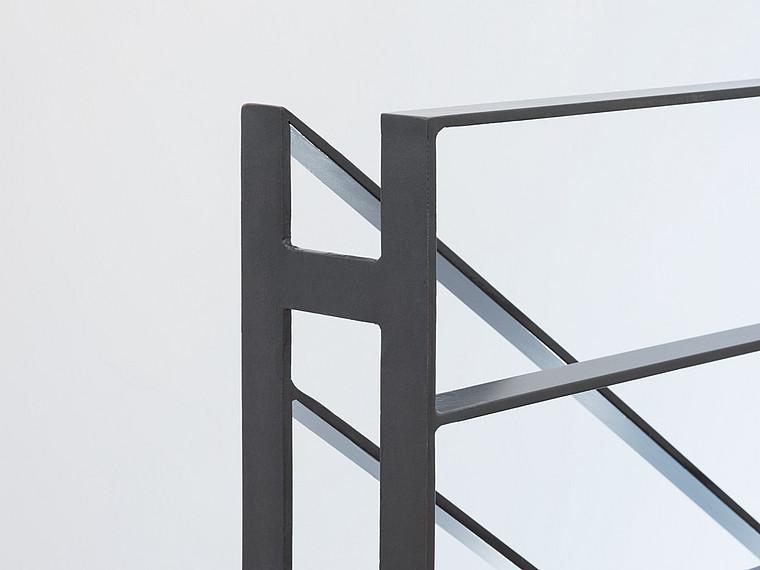 Modernes Einfamilienhaus Treppengeländer