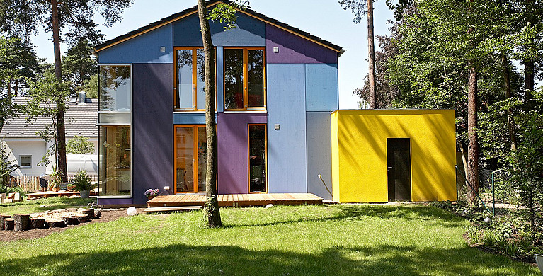 Kompaktes Einfamilienhaus