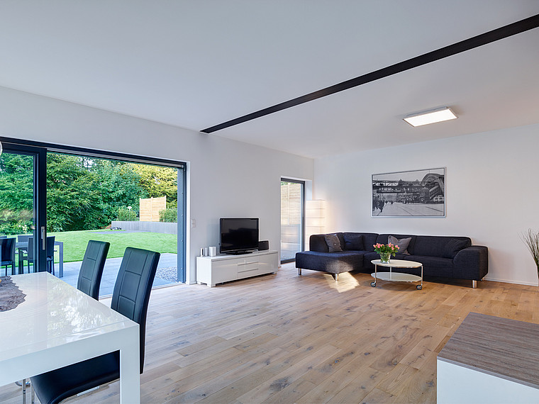 Modernes Einfamilienhaus Wohnbereich