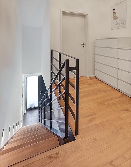 Modernes Einfamilienhaus Obergeschoss