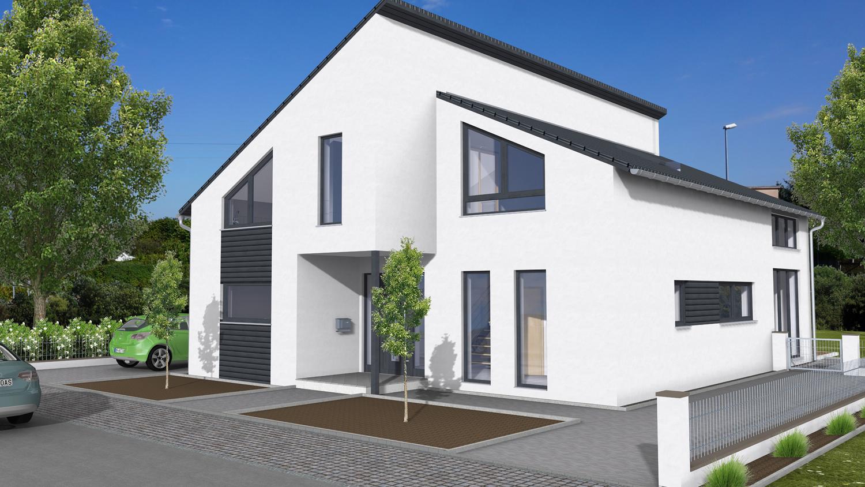 Fertighaus Pultdach fertighaus mit keller – wohnfläche optimal nutzen | petershaus