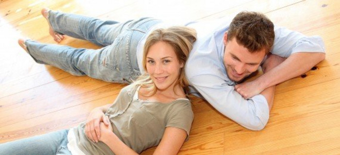 Zufriedenes Paar