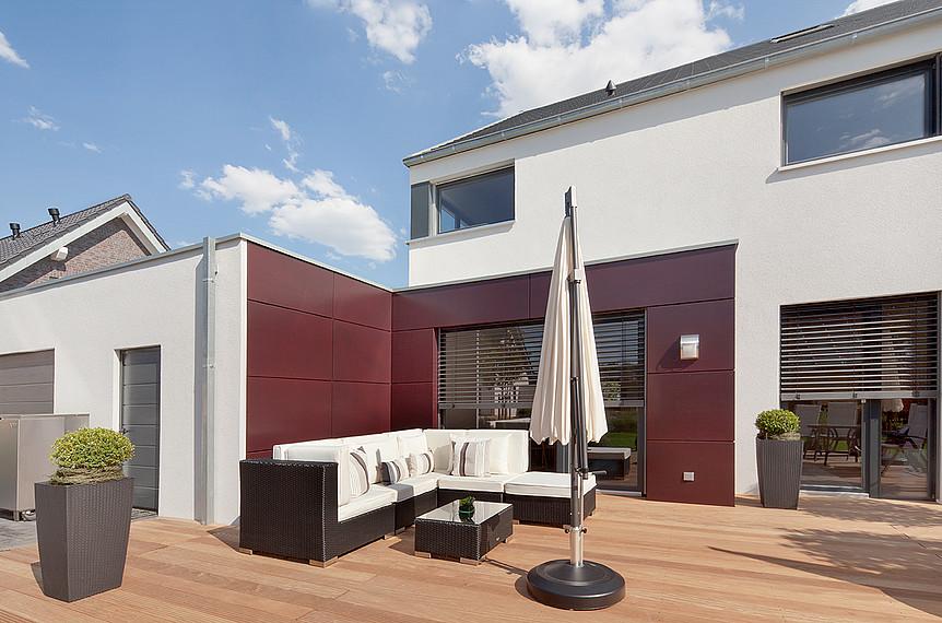 Zweifamilienhaus mit Terrasse