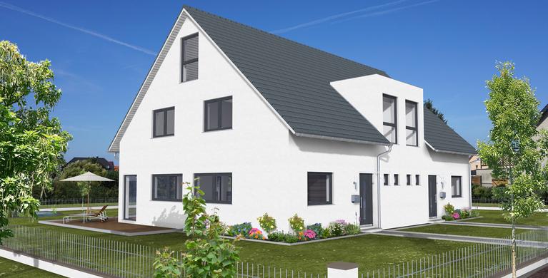 Hauskonzept Zweifamilienhaus