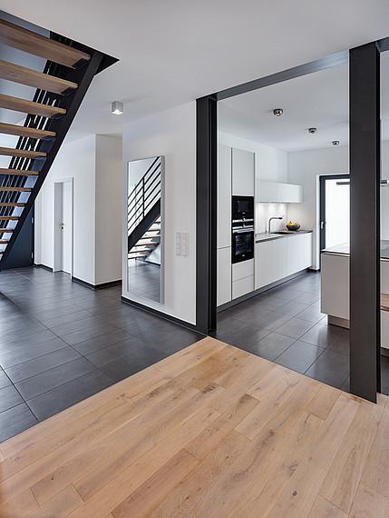 Modernes Einfamilienhaus großzügiger Flur