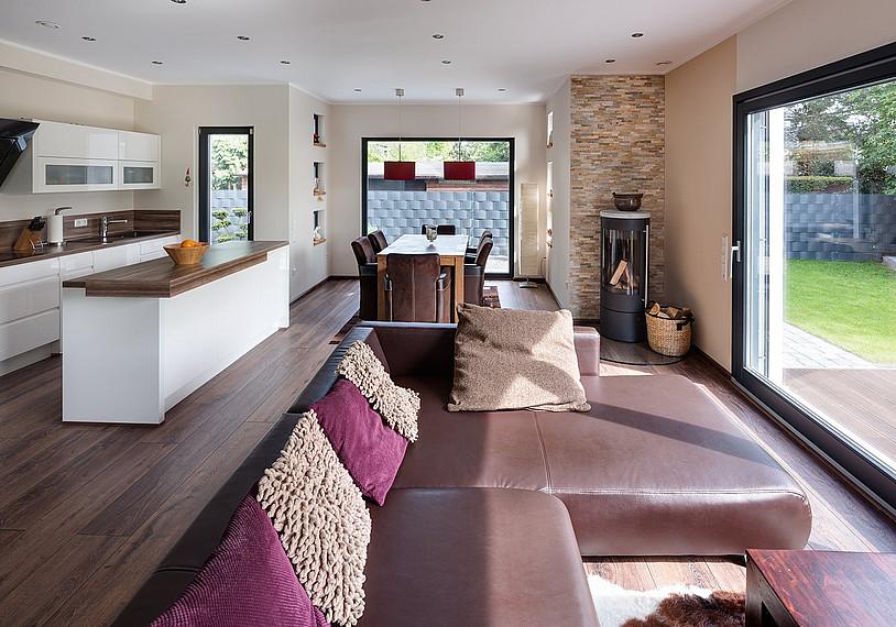 Wohnzimmer puristischer Stil
