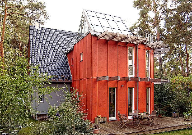 Hauserweiterung im skandinavischen Stil