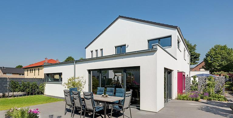 Fertighaus Haustyp: Zweifamilienhaus
