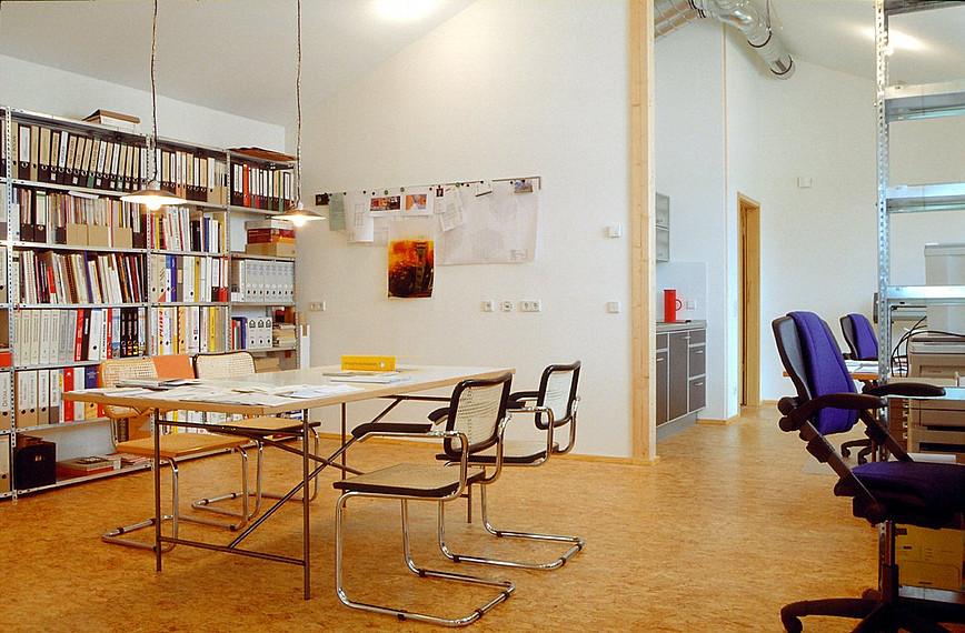 Fertighaus für Kreative: Bürobereich
