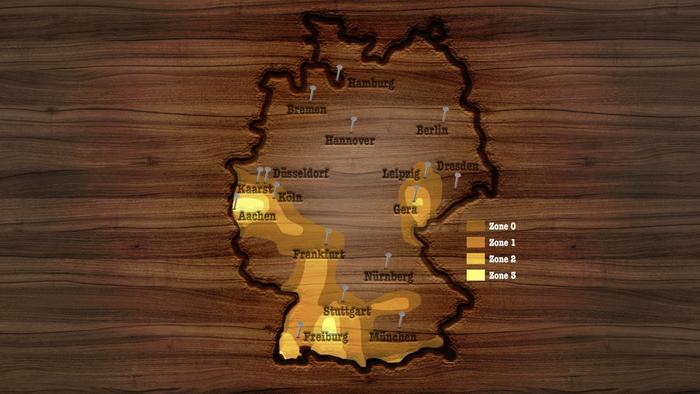 Erdbebenkarte Stabilität Holzfertighaus
