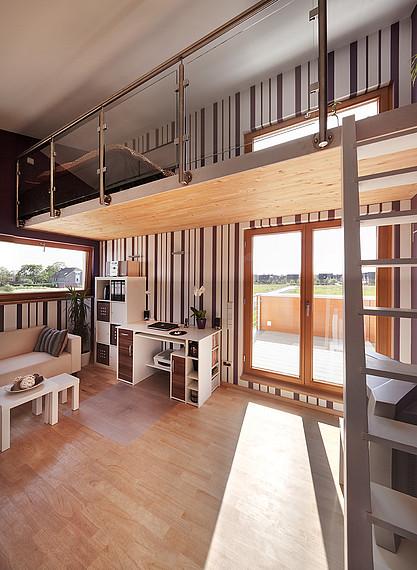 Wohnraum eines Einfamilienhauses