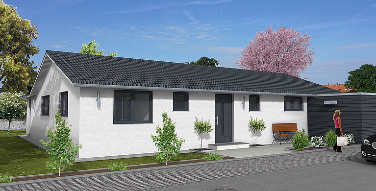 Hauskonzept Bungalow Bonn