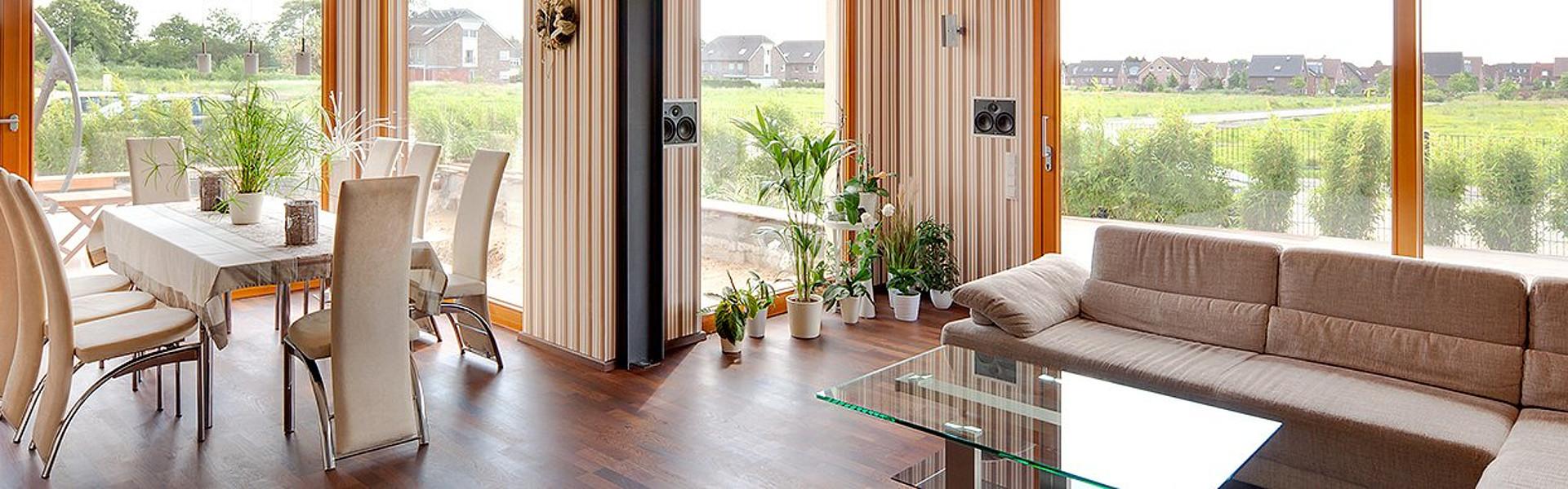 Dezentrale Lüftungsanlage: Innenansicht Haus