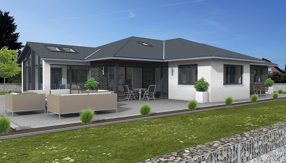 hauskonzept bungalow d sseldorf petershaus. Black Bedroom Furniture Sets. Home Design Ideas